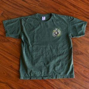 Vintage Bayside USMC Marine Corps EGA Logo Tee
